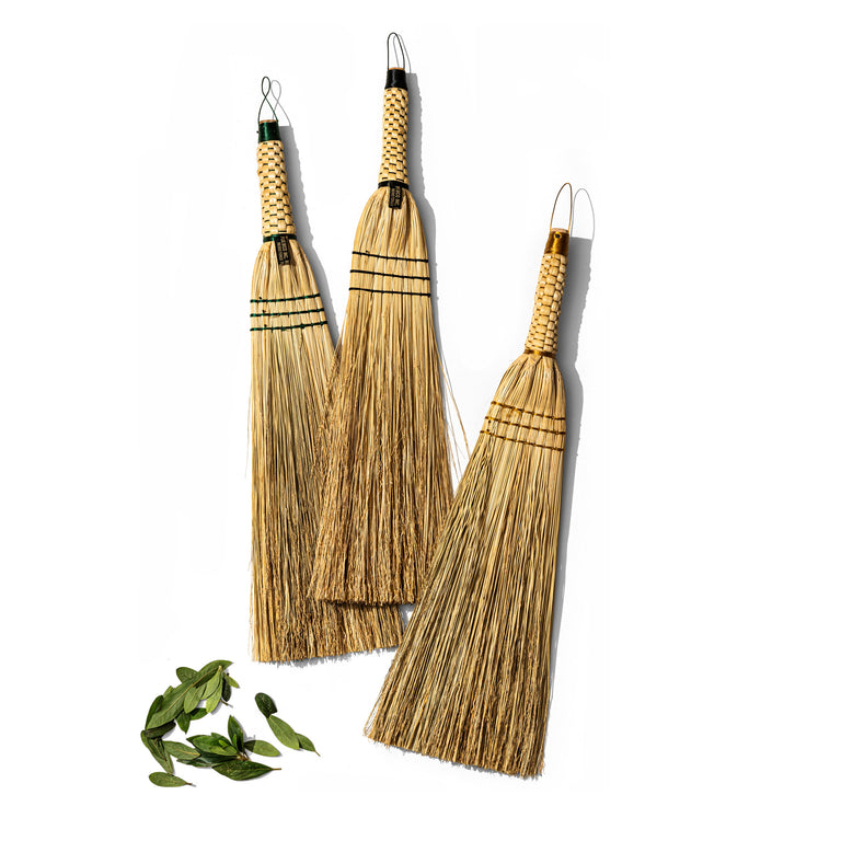 Hand Broom - Beige