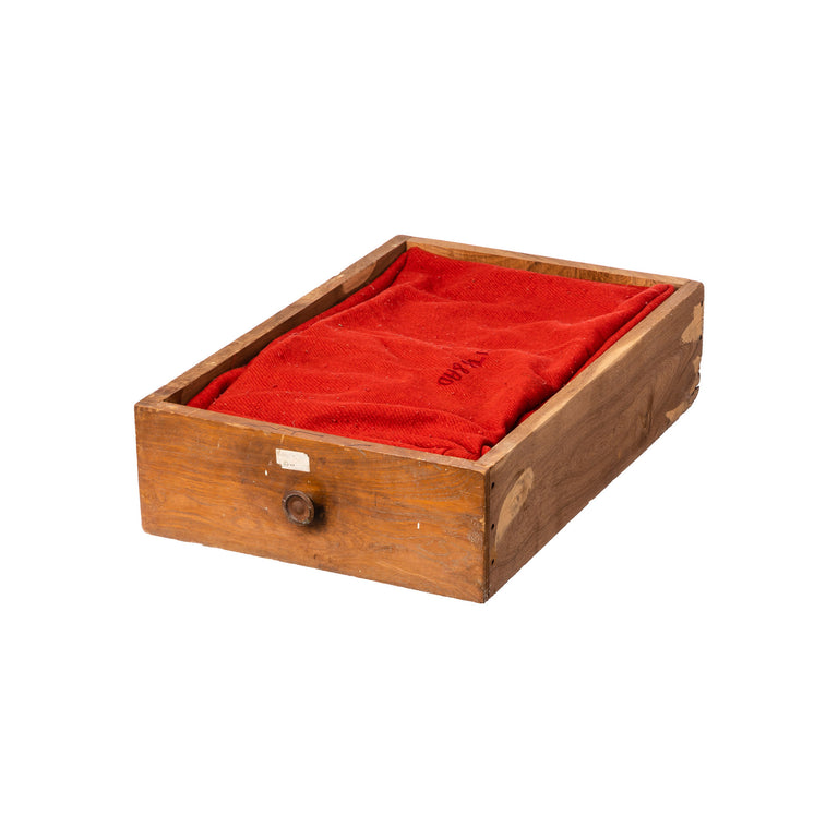 Vintage Drawer Pet Bed Red