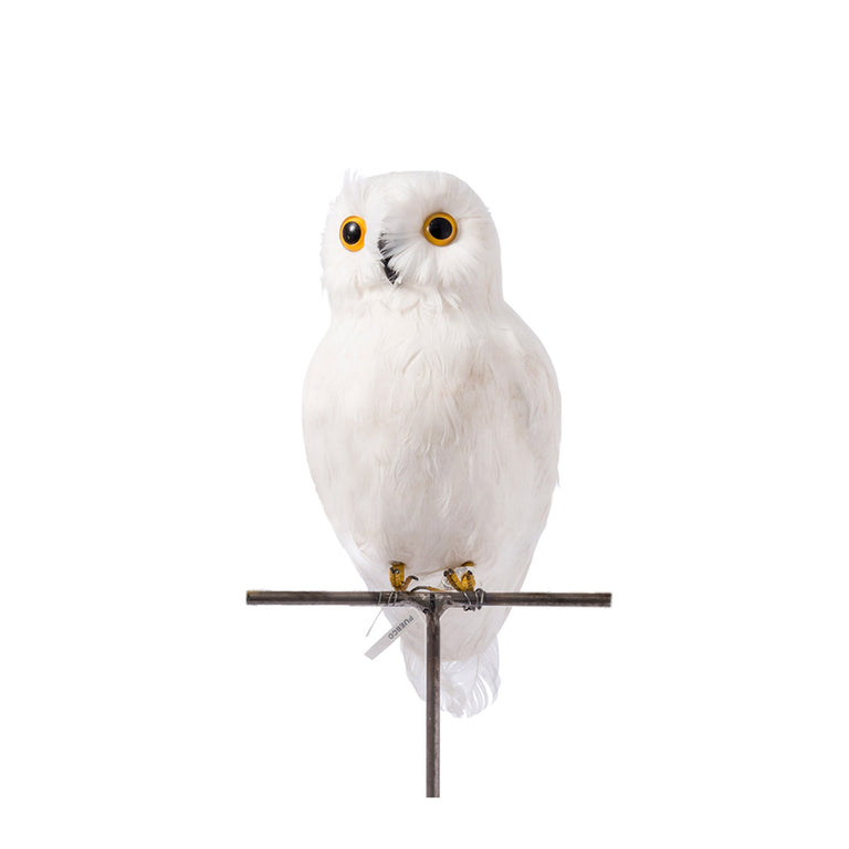 Artificial Bird - Large White Owl