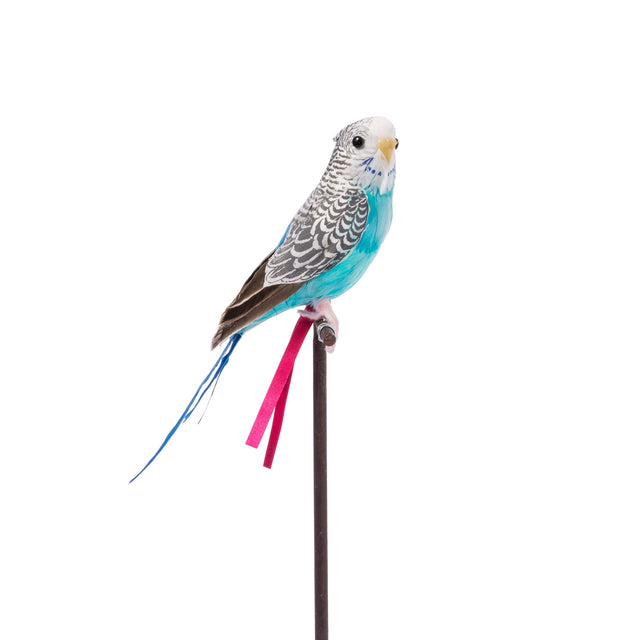 Artificial Bird - Blue Budgie