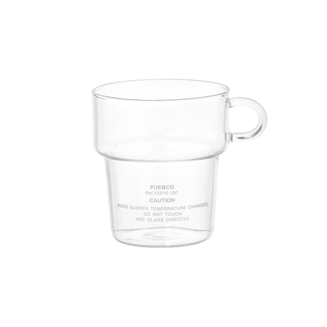 Borosilicate Glass Mug - Deep Stacking