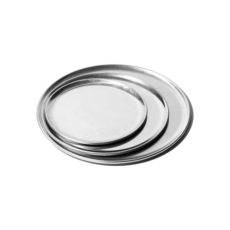 Aluminum Round Tray - 8 inches