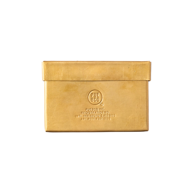Brass Card Case