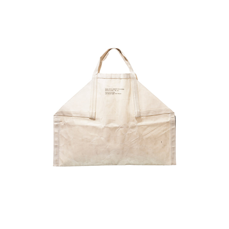 Off White Firewood Carrier