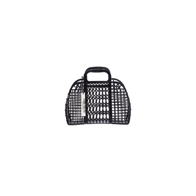 Plastic Market Bag - Small Black
