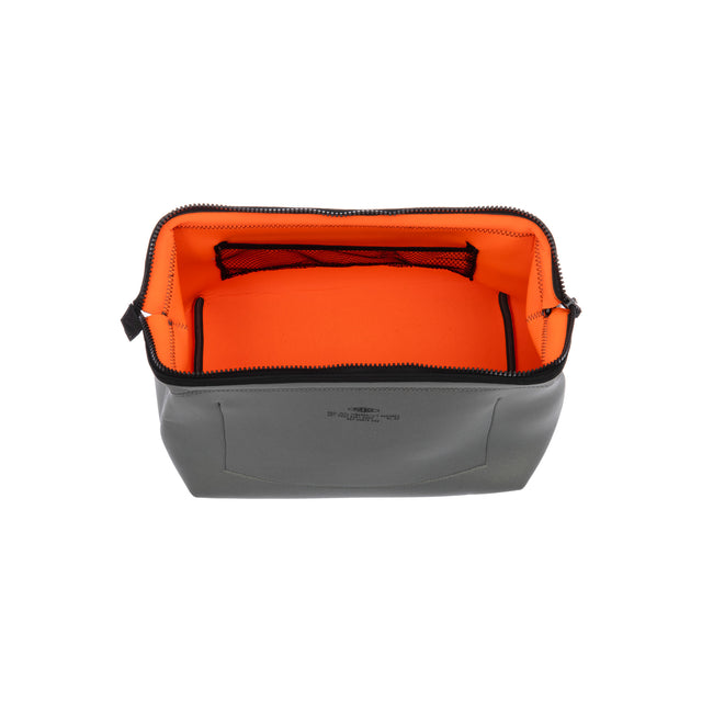 Wired Pouch Large Light Grey/Orange