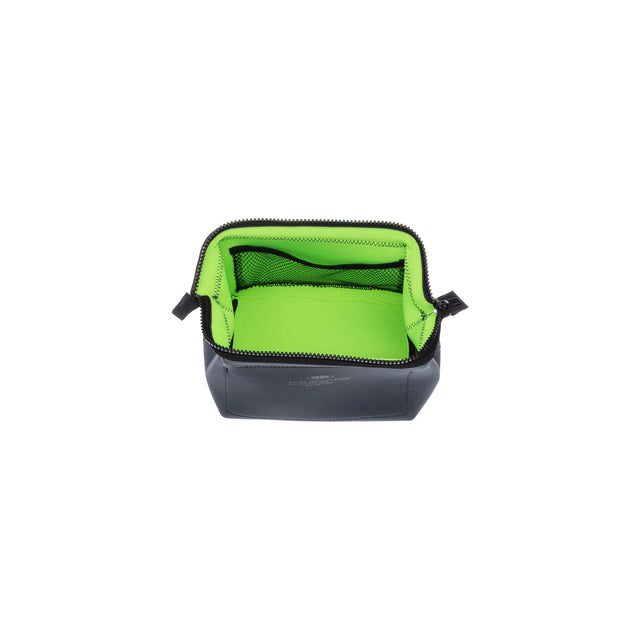 Wired Pouch Small Dark Grey/Green