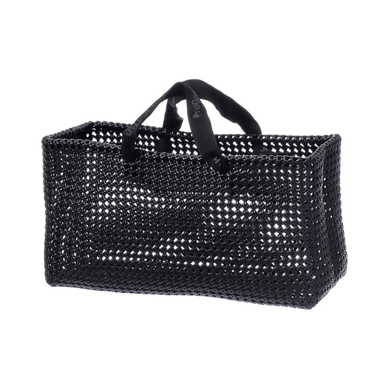 Plastic Straw Bag Black