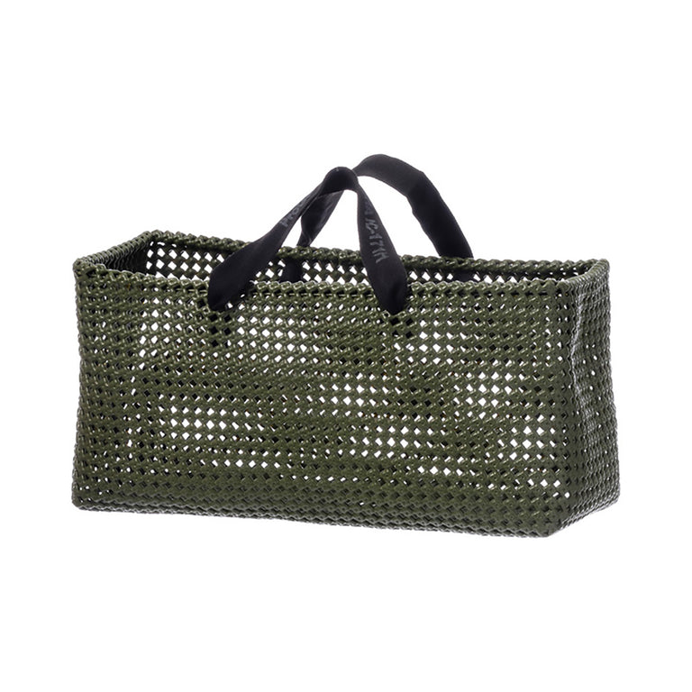 Plastic Straw Bag Olive