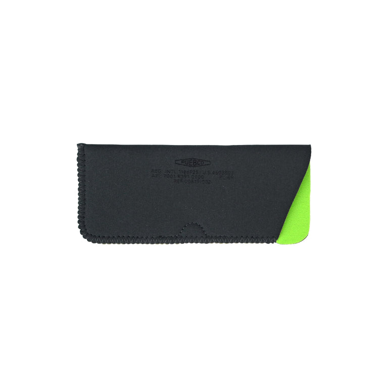 Glasses Sleeve - Dark Grey/Green