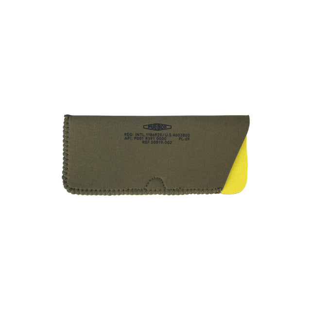 Glasses Sleeve - Olive/Yellow