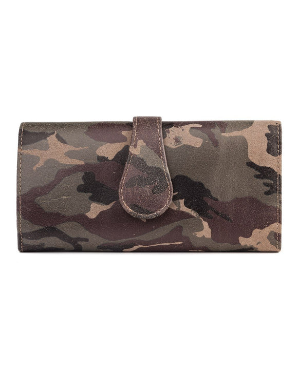 Mila Trifold Wallet: New Camouflage