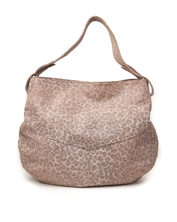 Diana Hobo Bag: Leopard Stingray