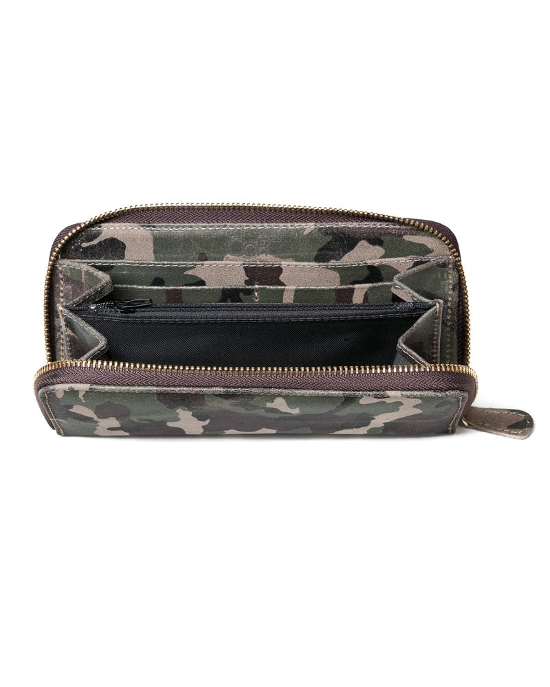 Zip Wallet: New Camouflage