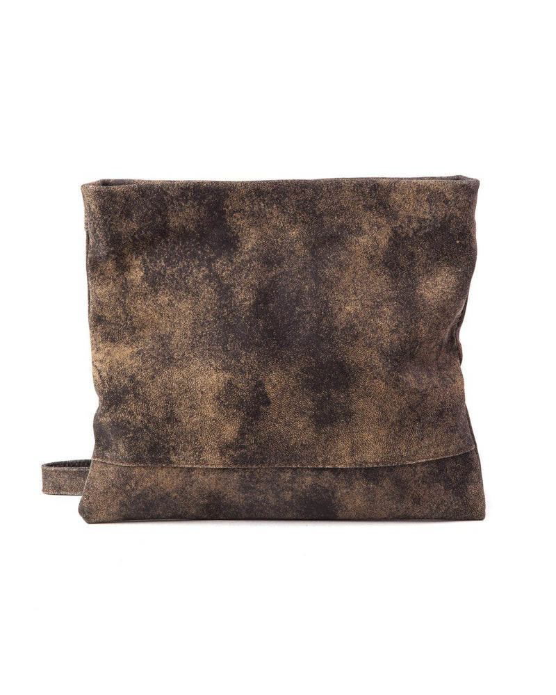 Mollie Cross-Body Convertible Clutch: Vintage Brown