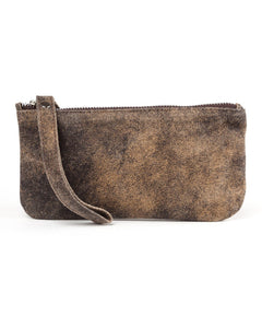 Ellie Wristlet: Vintage Brown