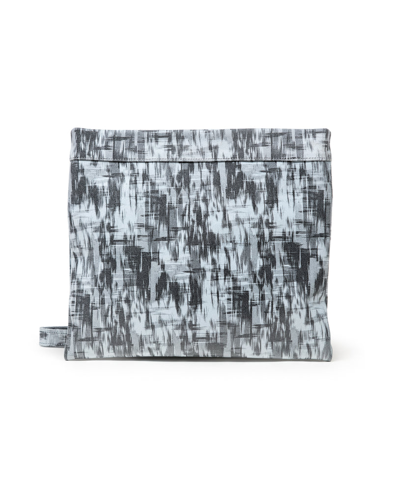 Mollie Cross Body Convertible Clutch: : Grey Patchwork