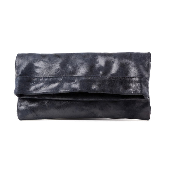 Mollie Cross-Body Convertible Clutch: Navy