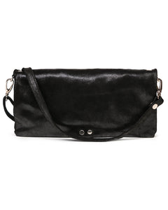 Crystal Cross Body: Black