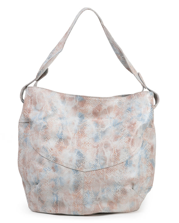 Diana Hobo Bag: Peachy Snake