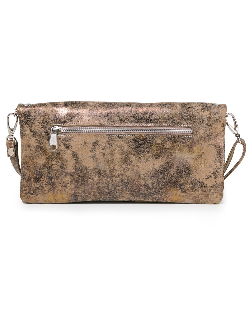 Crystal Cross-Body: Gold