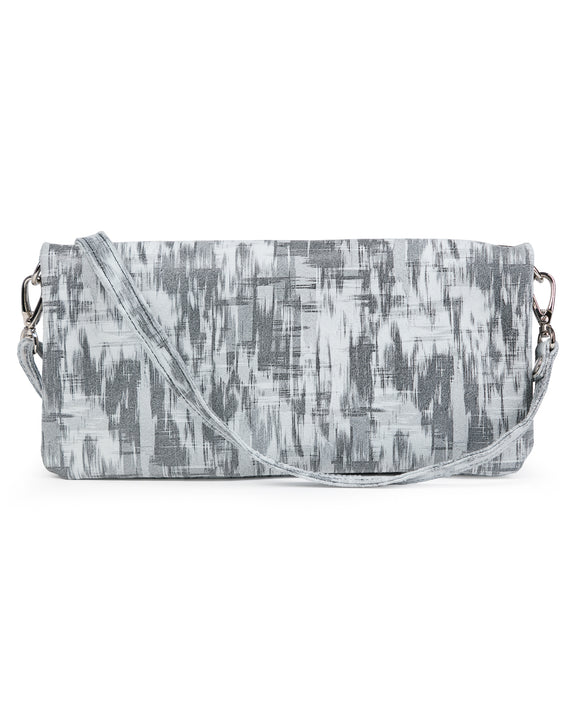 Crystal Cross Body: Grey Patch