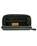Zip Wallet: Black Anaconda