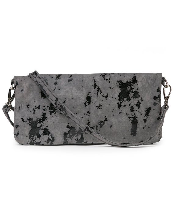 Crystal Cross Body: Smoke