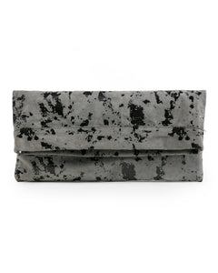 Mollie Cross Body Convertible Clutch: : Smoke