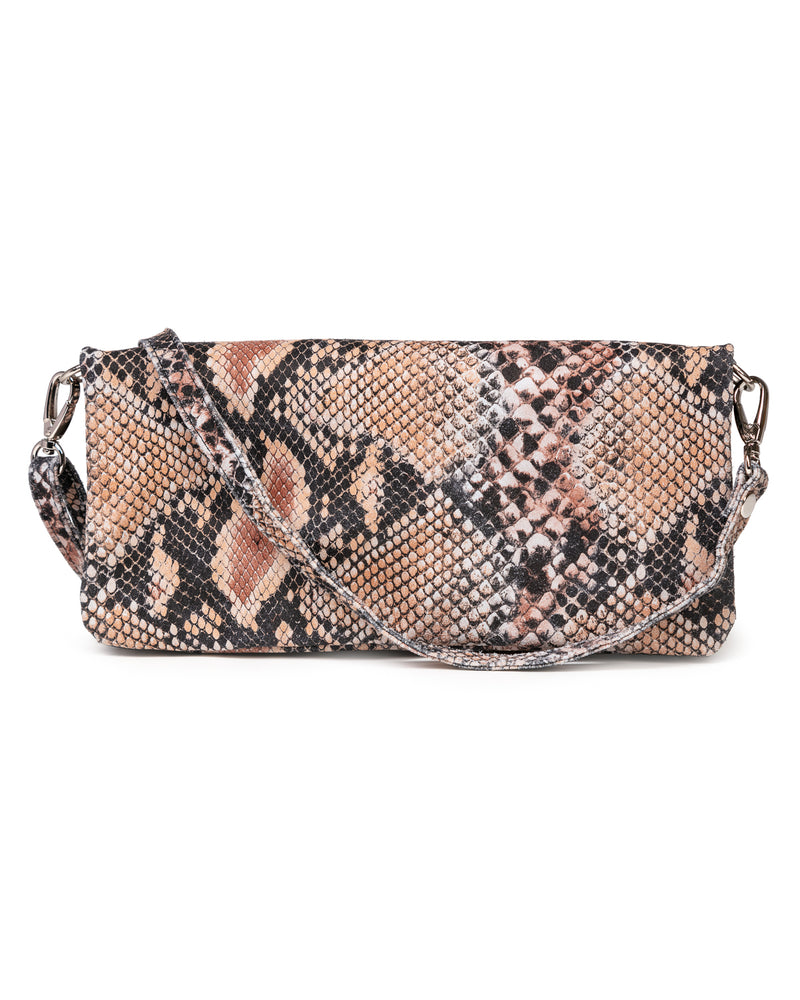Crystal Cross Body: Snake