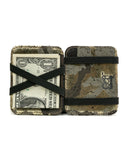 Magic Wallet: Black Gold Camouflage