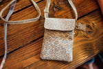 Penny Phone Bag: Leopard Stingray