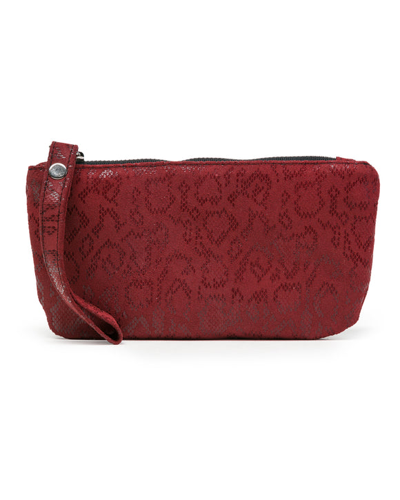 Ellie Wristlet: Red Anaconda