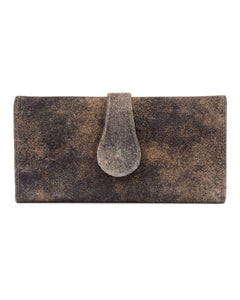 Mila Trifold Wallet: Vintage Brown