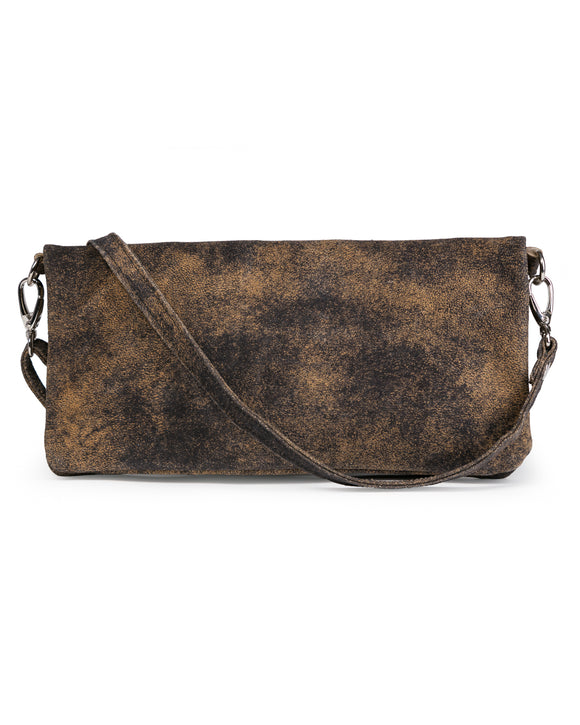 Crystal Cross-Body: Vintage Brown