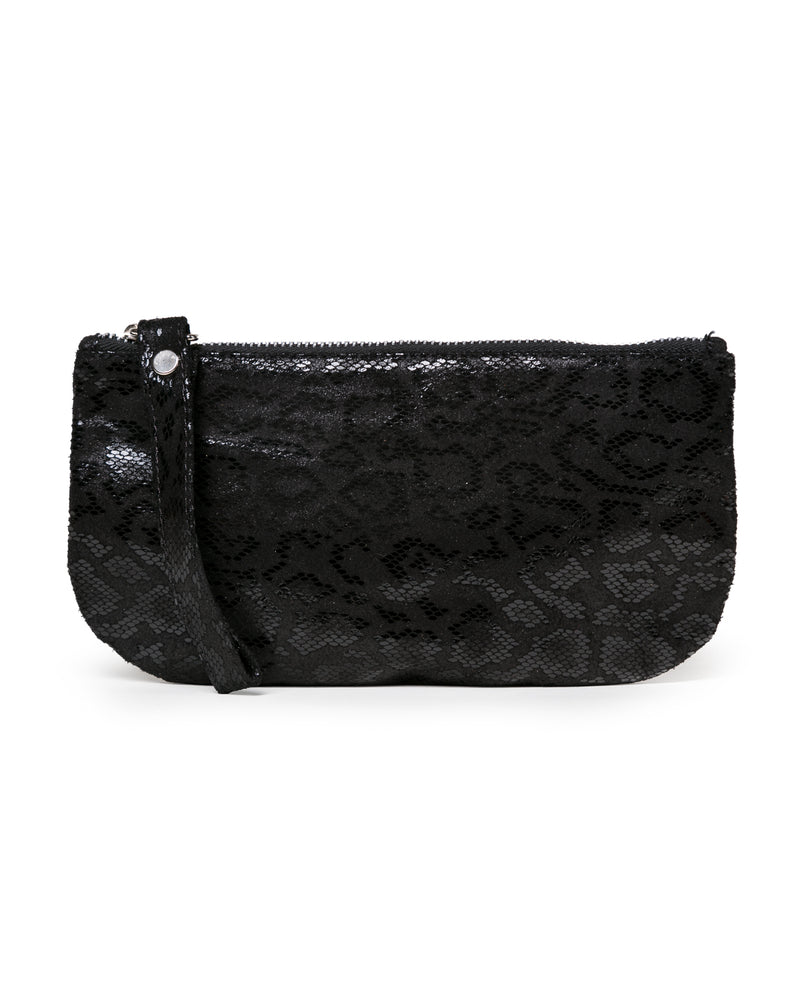 Ellie Wristlet: Black Anaconda
