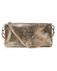 Crystal Cross-Body: Platinum