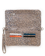 Crystal Cross Body-Leopard Stingray