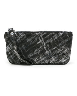 Ellie Wristlet: Black Silk