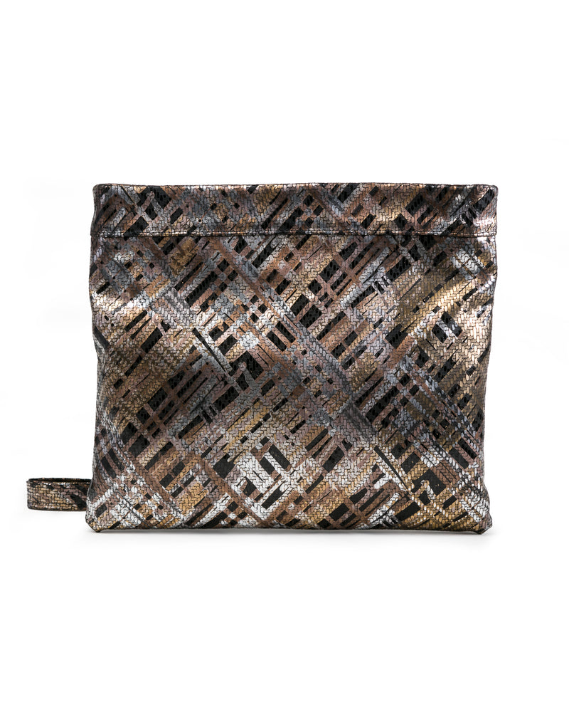 Mollie Cross Body Convertible Clutch: : Woven