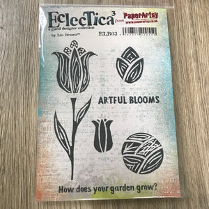 CLEARANCE - Artful Blooms ELB03 - PaperArtsy