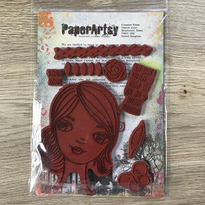 CLEARANCE - Clare Lloyd Stamp - PaperArtsy ECL09