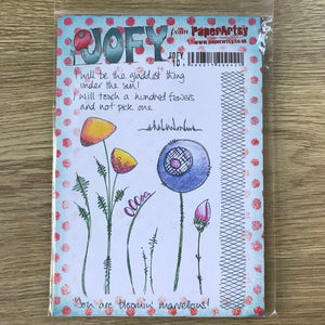 CLEARANCE - Jofy Stamps - PaperArtsy Jofy10