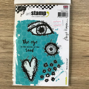 CLEARANCE - Birgit Koopsen Stamp - Mirror Of The Soul