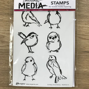 CLEARANCE - Scribbly Small Birdies