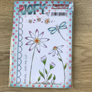 CLEARANCE - Jofy Stamps - PaperArtsy Jofy13