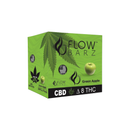 Flow Barz Delta 8 CBD Vape Disposable - Green Apple 2ML - 500mg Delta 8 | 100mg CBD - 10 Pack Display Box (MSRP $39.95 each) - COMING SOON!