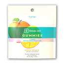 Social CBD Gummies 10ct 125MG - Peach Mango (MSRP $14.99)