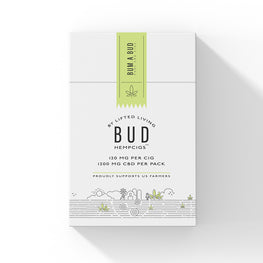 Lifted Living BUD™ HempCigs - 10 cigs/pack (MSRP $14.95)