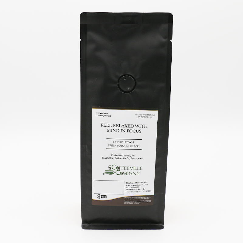 Terrasol Lull CBD Coffee - Whole (MSRP $39.95)